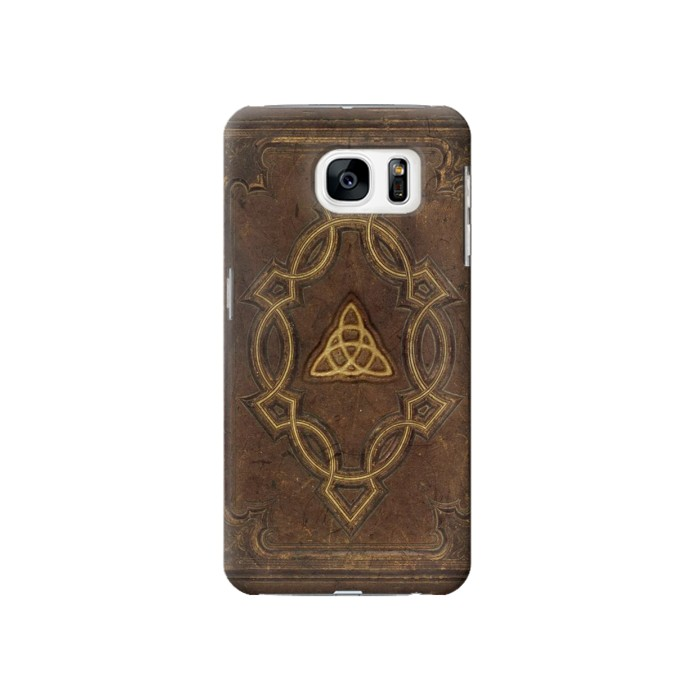 Printed Spell Book Cover Samsung Galaxy S7 Case
