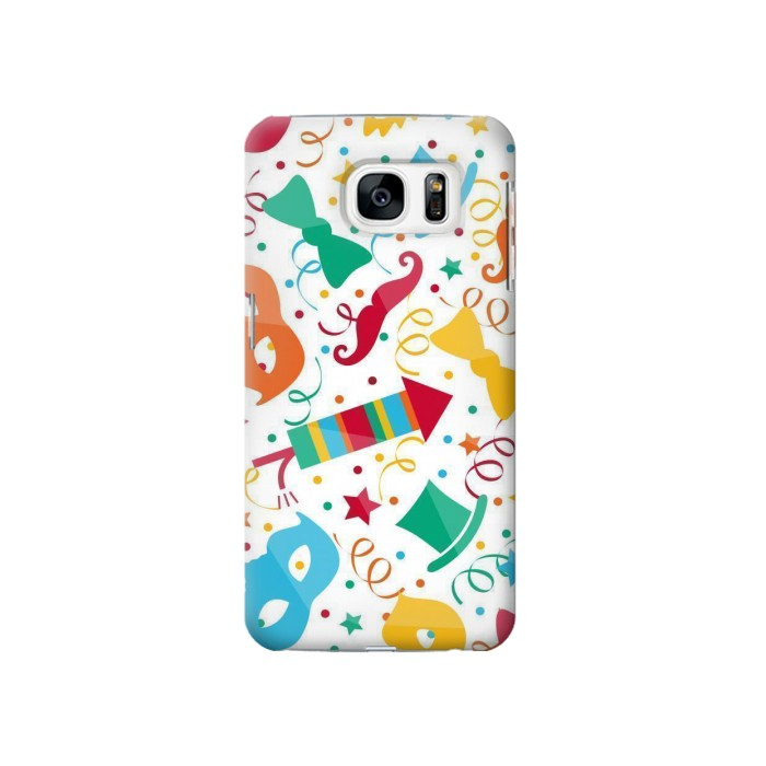 Printed Carnival Pattern Samsung Galaxy S7 Case