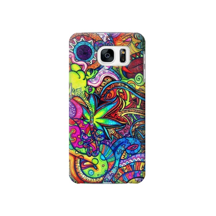 Printed Colorful Art Pattern Samsung Galaxy S7 Case