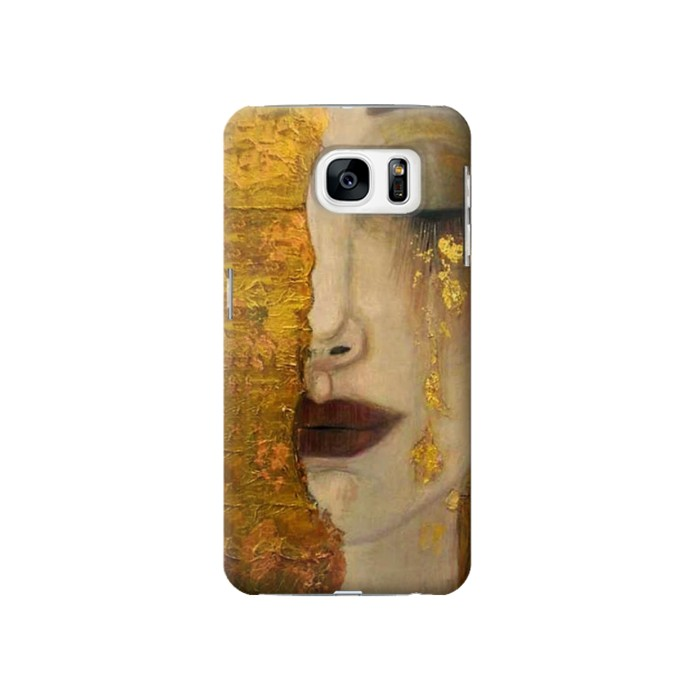 Printed Gustav Klimt Golden Tears Samsung Galaxy S7 Case