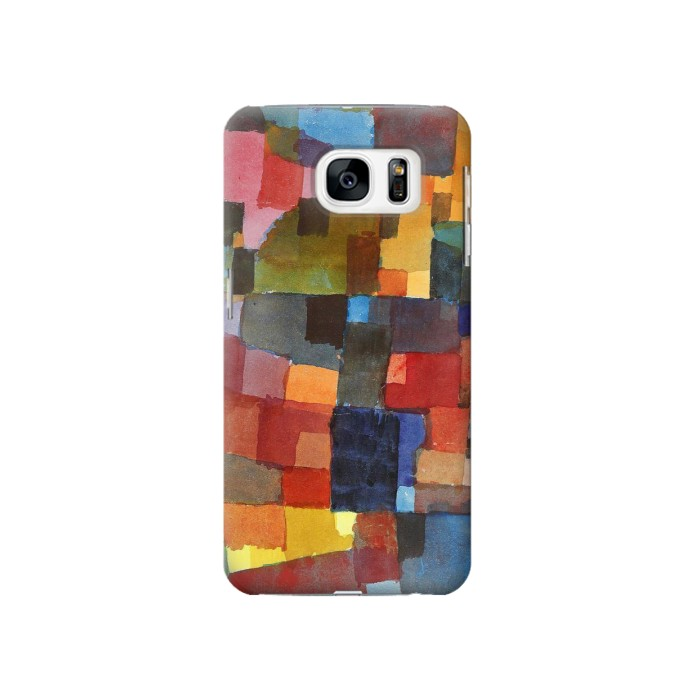 Printed Paul Klee Raumarchitekturen Samsung Galaxy S7 Case