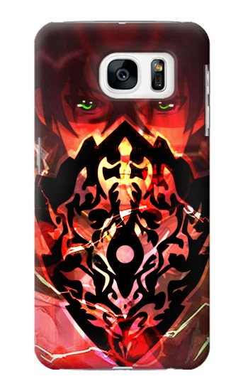 Printed The Rising Of The Shield Hero Curse Shield Samsung Galaxy S7 Case