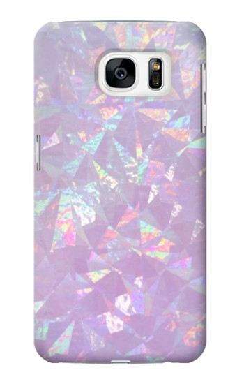 Printed Iridescent Holographic Photo Printed Samsung Galaxy S7 Case