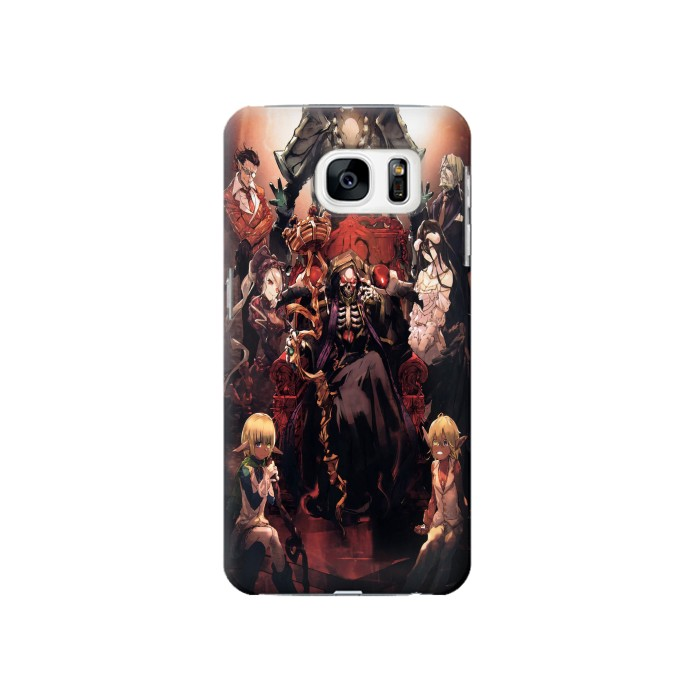 Printed Overlord Ainz Ooal Gown Samsung Galaxy S7 Case