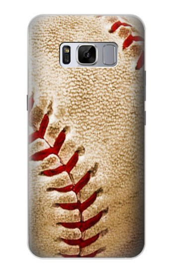 Printed Baseball Samsung Galaxy S8 Case