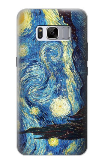 Printed Van Gogh Starry Nights Samsung Galaxy S8 Case