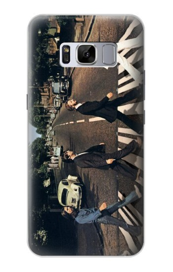 Printed The Beatles Abbey Road Samsung Galaxy S8 Case