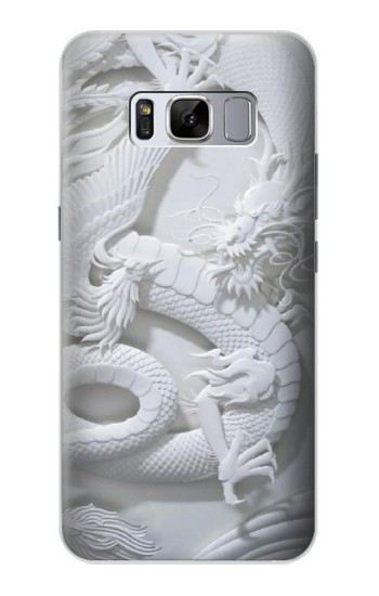 Printed Dragon Carving Samsung Galaxy S8 Case