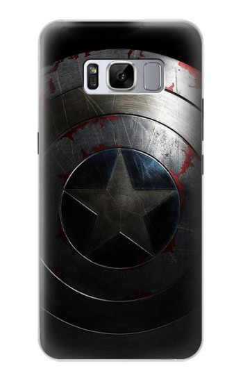 Printed Captain Shield Samsung Galaxy S8 Case