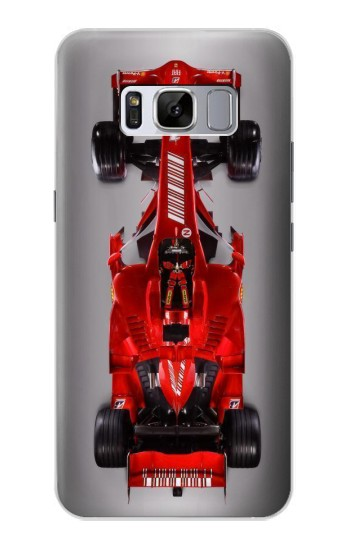 Printed Formula One Racing Car Samsung Galaxy S8 Case