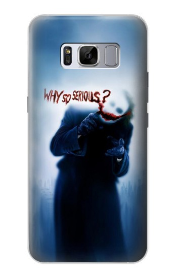 Printed Batman Joker Why So Serious Samsung Galaxy S8 Case