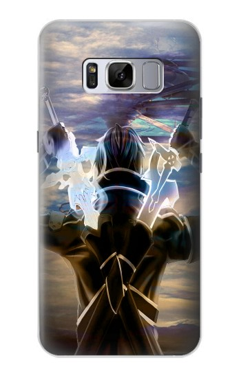 Printed Sword Art Online Kirito Samsung Galaxy S8 Case