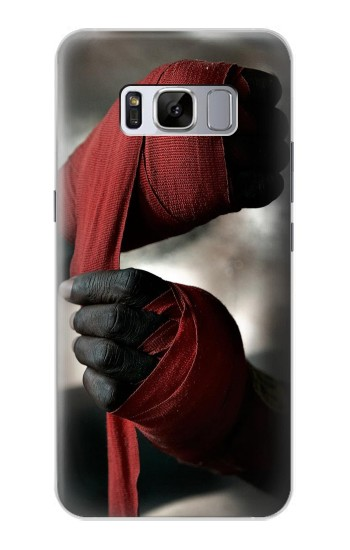 Printed Boxing Fighter Samsung Galaxy S8 Case