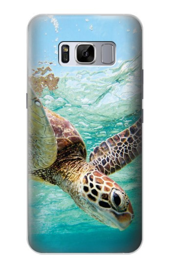 Printed Ocean Sea Turtle Samsung Galaxy S8 Case