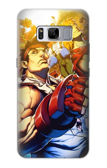 Printed Street Fighter Ryu Ken Samsung Galaxy S8 Case