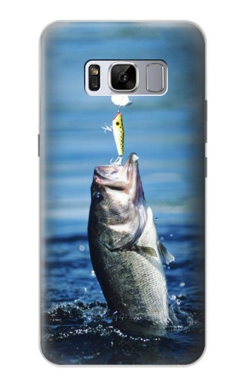 Printed Bass Fishing Samsung Galaxy S8 Case