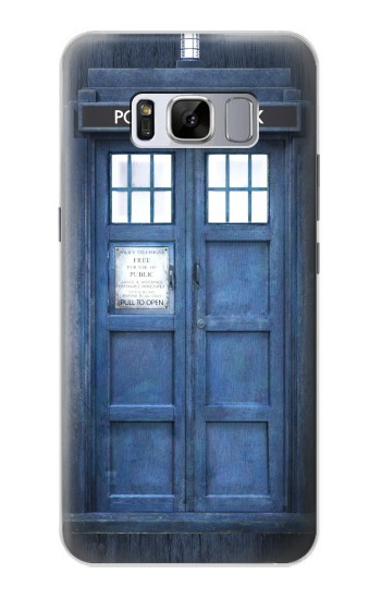Printed Doctor Who Tardis Samsung Galaxy S8 Case