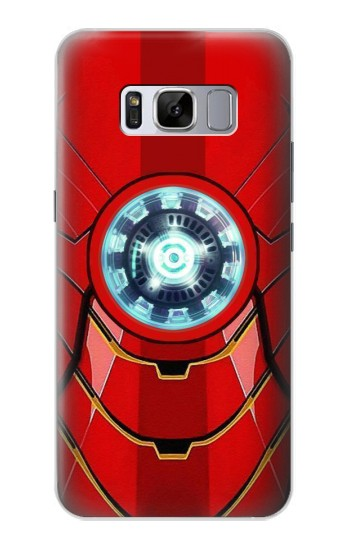 Printed Ironman Armor Arc Reactor Graphic Printed Samsung Galaxy S8 Case