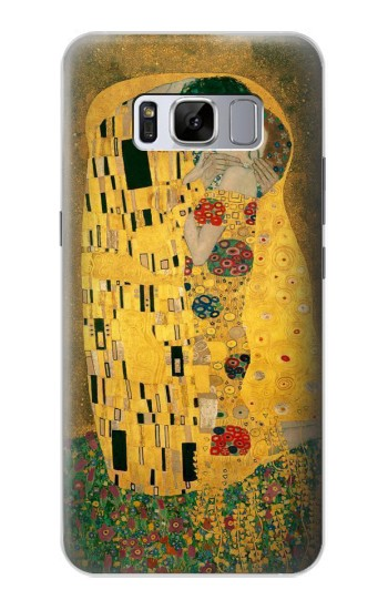 Printed Gustav Klimt The Kiss Samsung Galaxy S8 Case