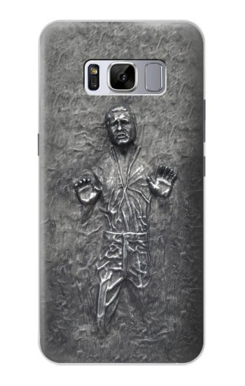 Printed Han Solo in Carbonite Samsung Galaxy S8 Case