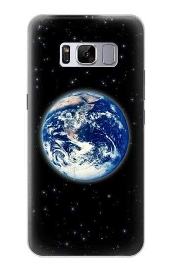 Printed Earth Planet Space Star nebula Samsung Galaxy S8 Case
