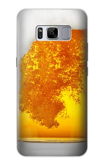 Printed Beer Glass Samsung Galaxy S8 Case