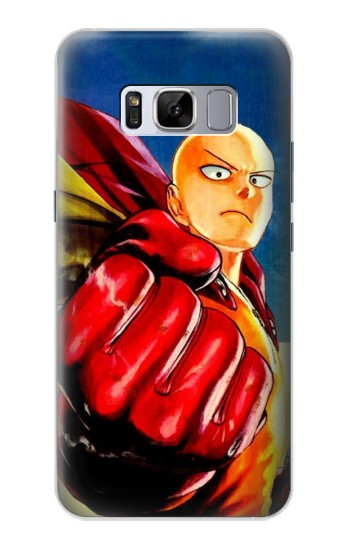 Printed Saitama One Punch Man Samsung Galaxy S8 Case