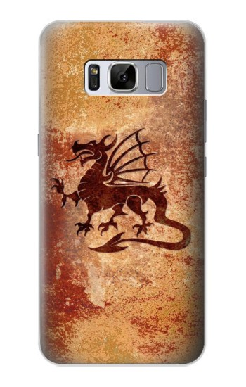 Printed Dragon Metal Texture Samsung Galaxy S8 Case