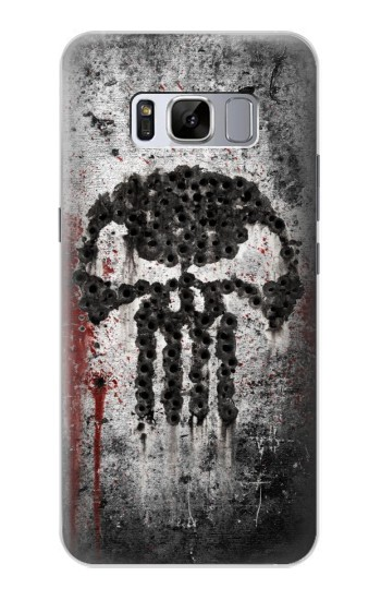 Printed Punisher Samsung Galaxy S8 Case