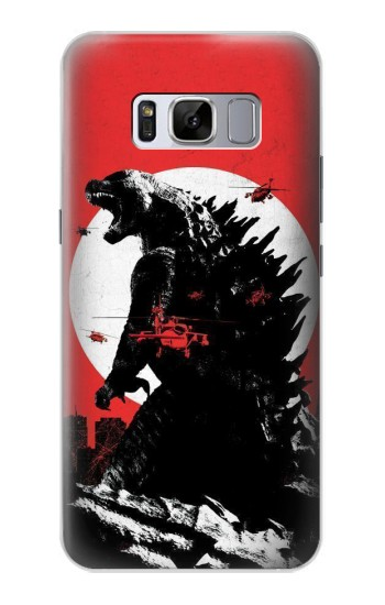 Printed Godzilla Japan Flag Samsung Galaxy S8 Case