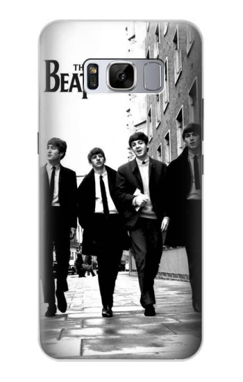 Printed The Beatles in London Samsung Galaxy S8 Case