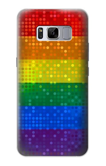 Printed Rainbow Gay LGBT Pride Flag Samsung Galaxy S8 Case