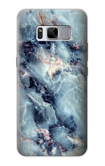 Printed Blue Marble Texture Samsung Galaxy S8 Case