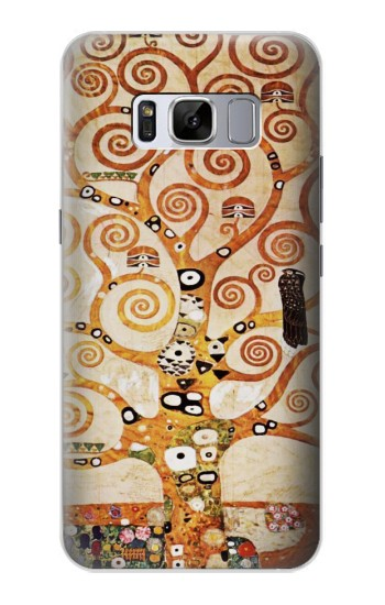 Printed The Tree of Life Gustav Klimt Samsung Galaxy S8 Case
