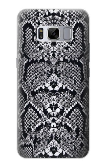 Printed White Rattle Snake Skin Samsung Galaxy S8 Case