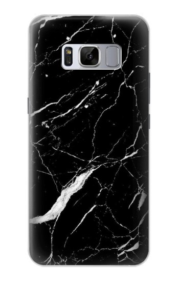 Printed Black Marble Graphic Printed Samsung Galaxy S8 Case