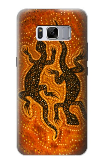 Printed Lizard Aboriginal Art Samsung Galaxy S8 Case