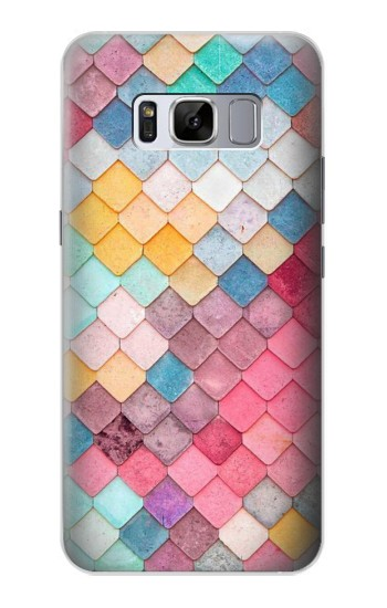 Printed Candy Minimal Pastel Colors Samsung Galaxy S8 Case