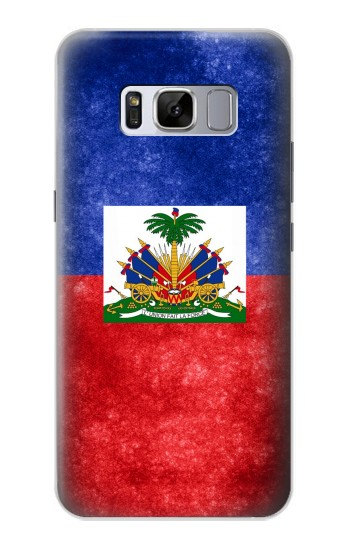 Printed Haiti Flag Samsung Galaxy S8 Case