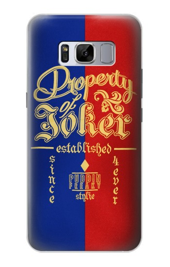 Printed Property of Joker Puddin Freaky Style Samsung Galaxy S8 Case
