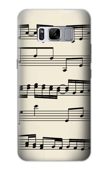 Printed Music Sheet Samsung Galaxy S8 Case