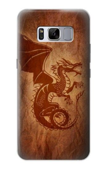Printed Red Dragon Tattoo Samsung Galaxy S8 Case