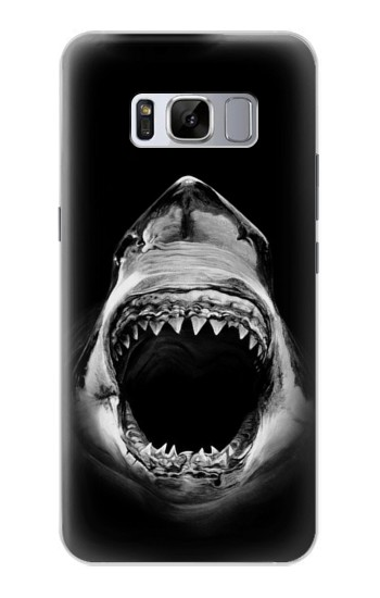 Printed Great White Shark Samsung Galaxy S8 Case