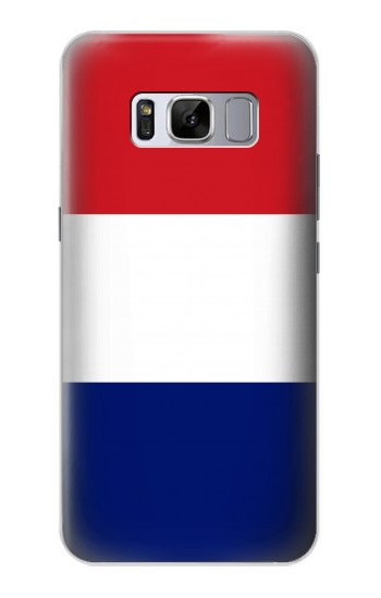 Printed Flag of France and the Netherlands Samsung Galaxy S8 Case
