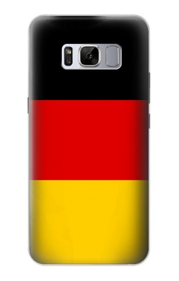 Printed Flag of Germany Samsung Galaxy S8 Case
