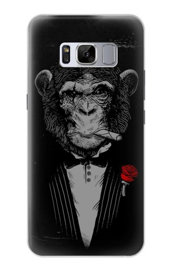 Printed Funny Monkey God Father Samsung Galaxy S8 Case