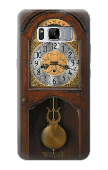 Printed Grandfather Clock Antique Wall Clock Samsung Galaxy S8 Case