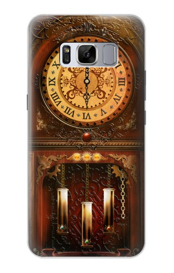 Printed Grandfather Clock Samsung Galaxy S8 Case