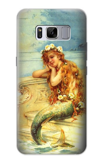 Printed Little Mermaid Painting Samsung Galaxy S8 Case