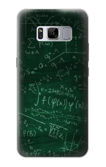 Printed Math Formula Greenboard Samsung Galaxy S8 Case